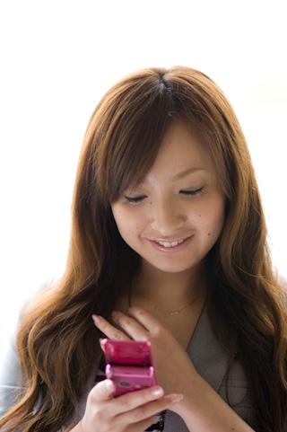 愛のペア携帯ストラップ