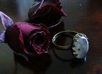 画像1: グレードAAラブラドライトのリング