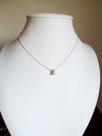画像3: ダイヤモンドの一粒石ネックレス★Silver925★天然石ジュエリー