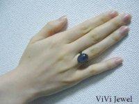 画像3: AA大粒カイヤナイトのリング 天然石ジュエリー・アクセサリー